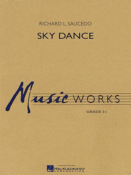 【取寄 約7-14日間】スカイ・ダンス 作曲:リチャード L.ソーシード Sky Dance【吹奏楽 楽譜セット】