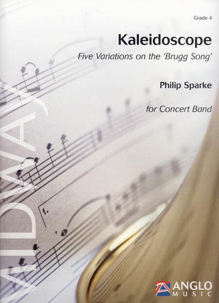 カレイドスコープ(万華鏡) 作曲:フィリップ・スパーク Kaleidoscope【吹奏楽 楽譜セット】
