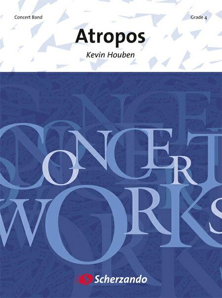 【取寄 約10日間】アトロポス 作曲:ケヴィン・ホーベン Atropos【吹奏楽 楽譜セット】