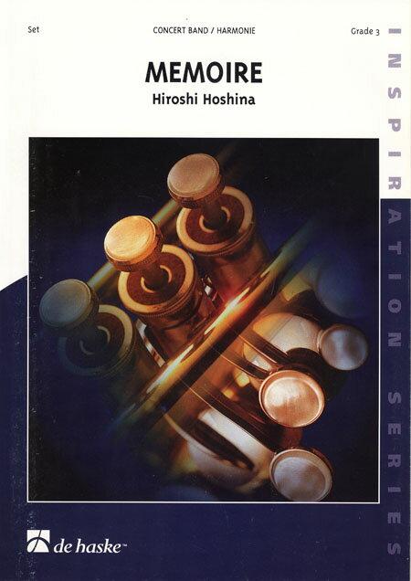 【取寄 約10日間】メモワール 作曲:保科 洋 Memoire【吹奏楽 楽譜セット】