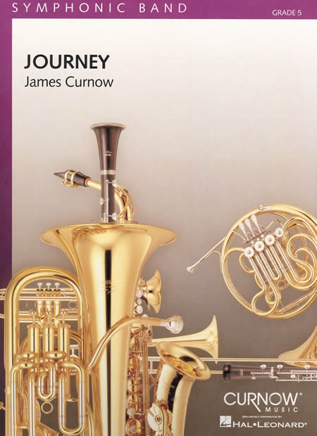 ジャーニー (旅) 作曲:ジェームズ・カーナウ JourneyJames Curnow【吹奏楽 楽譜セット】