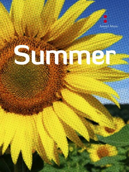 【取寄 約10日間】交響詩「夏」 作曲:ヨハン・デメイ Summer 【吹奏楽 楽譜セット】