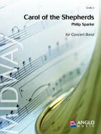 【取寄 約10日間】羊飼いたちのキャロル 編曲:フィリップ・スパーク Carol of the Shepherds 【吹奏楽 楽譜セット】
