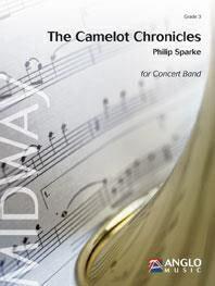 【取寄 約10日間】キャメロット・クロニクルズ 作曲:フィリップ・スパーク The Camelot Chronicles 【吹奏楽 楽譜セット】