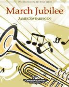 【取寄 約7-21日間】マーチ・ジュビリー 作曲:ジェイムズ・スウェアリンジェン March Jubilee 【吹奏楽 楽譜セット】