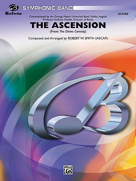 【取寄 約7-14日間】神曲:III) 昇天 作曲:ロバート・W・スミス The Divine Comedy : The Ascension 【吹奏楽 楽譜セット】