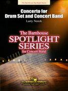 【取寄 約7-21日間】ドラムセットとコンサートバンドのための協奏曲 作曲:ラリー・ニーク Concerto for Drum set and Concert Band 【吹奏楽 協奏曲 楽譜セット】