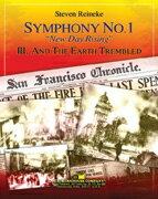 """【取寄 約7-21日間】交響曲第1番『ニュー・デイ・ライジング』 第3楽章""""そして、大地は揺れた"""" 作曲:S.ライニキー Symphony No. 1 New Day Rising III.And The Earth Trembled【吹奏楽 楽譜セット】"""