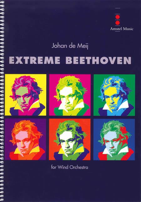 【取寄 約10日間】エクストリーム・ベートーヴェン(ベートーヴェンの主題によるメタモルフォージス) 作曲:ヨハン・デメイ Extreme Beethoven(Metamorphoses on themes by Ludwig van Beethoven)【吹奏楽 楽譜セット】