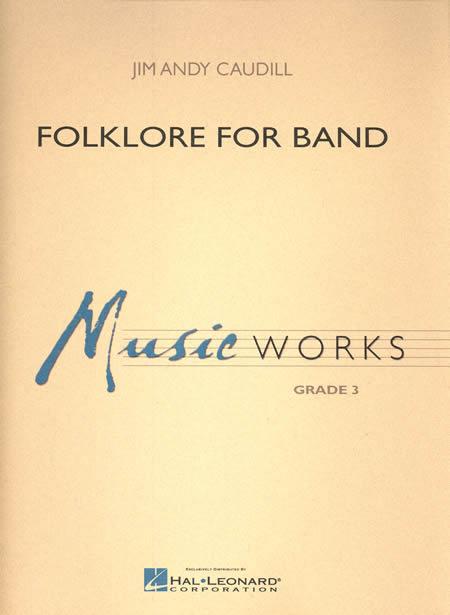 【取寄 約7-14日間】バンドのための民話 作曲:ジム・アンディ・コーディル Folklore for Band【吹奏楽 楽譜セット】