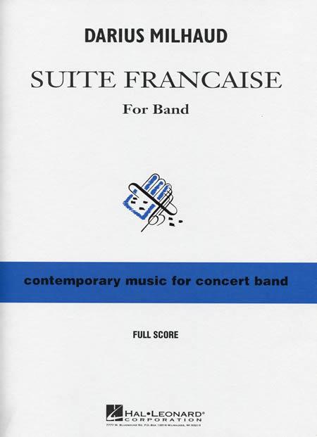 【取寄 約7-14日間】フランス組曲 作曲:ダリウス・ミヨー Suite francaise【吹奏楽 楽譜セット】