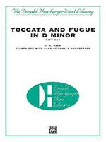 【お取り寄せします 約7-14日間】トッカータとフーガ ニ短調 作曲:ヨハン・セバスティアン・バッハ 編曲:ドナルド・ハンスバーガー Toccata and Fugue in D minor BWV565【吹奏楽-楽譜セット】