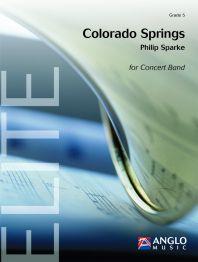 【取寄 約10日間】コロラドスプリングス 作曲:フィリップ・スパーク Colorado Springs :Suite for Band【吹奏楽 楽譜セット】