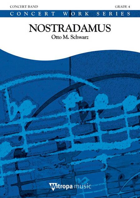 【取寄 約10日間】ノストラダムス 作曲:オットー・M・シュヴァルツ Nostradamus【吹奏楽 楽譜セット】