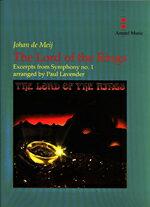 【送料無料】【取寄 約10日間】交響曲第1番「指輪物語」(抜粋) 作曲:ヨハン・デメイ 編曲:ポール・ラヴェンダー The Lord of the Rings【吹奏楽 楽譜セット】