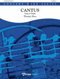 【取寄 約10日間】カントゥス 作曲:トーマス・ドス Cantus【吹奏楽 楽譜セット】
