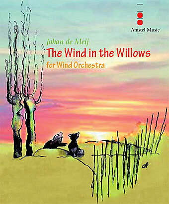 【取寄 約10日間】ザ・ウィンド・イン・ザ・ウィロー 作曲:ヨハン・デメイ The Wind in the Willows【吹奏楽 楽譜セット】