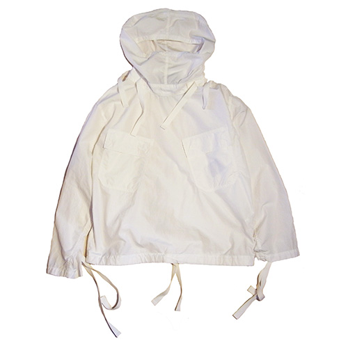 KAPTAIN SUNSHINESalvage Parka-White-