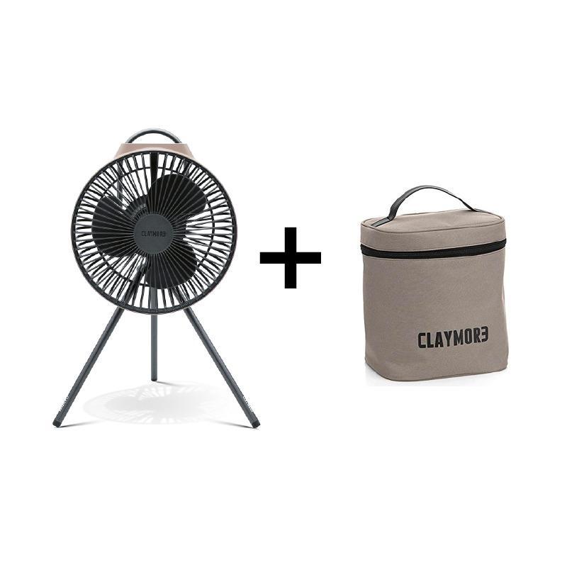 人気の充電式扇風機 CLAYMORE クレイモア FAN V600+ 充電式扇風機サーキュレーター 品質保証 訳あり品送料無料 専用ポーチ