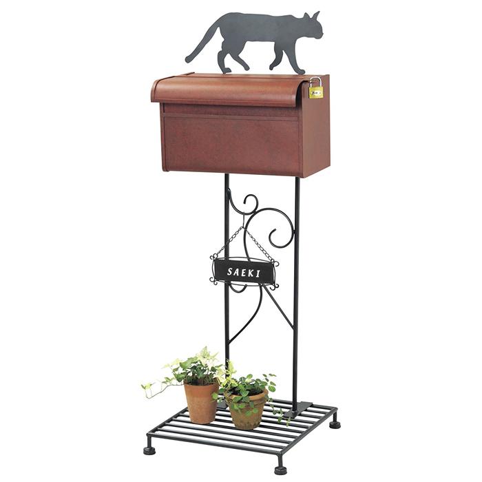 【送料無料】シルエットポスト(キャット)move si-1501 | シルエット | ポスト | 装飾 | DIY | 郵便 | 受け | 猫 | ねこ | ネコ | おしゃれ | かわいい | 玄関 | セトクラフト
