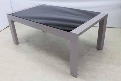 【アウトレット】【一部地域送料無料】 ダイニングテーブル 幅180/260 dtb-eu-ex ミンディーウッド グレー 灰色 インテリア 収納 テーブル ダイニングテーブル 中古 家具