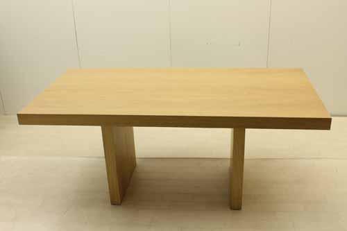 【アウトレット】 ダイニングテーブル 幅180 dtb-jp-nt マホガニー ブラウン 茶 インテリア 収納 ダイニングセット 中古 家具
