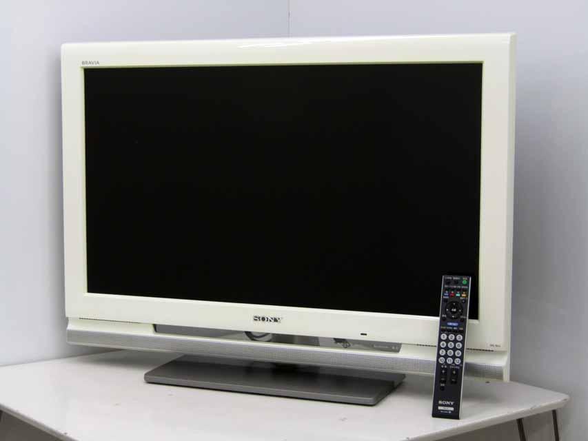 【中古液晶テレビ】【ソニー】ブラビア KDL-32J1 32V型 ハイビジョン ホワイト 2008年製 価格 安い おすすめ 一人暮らし