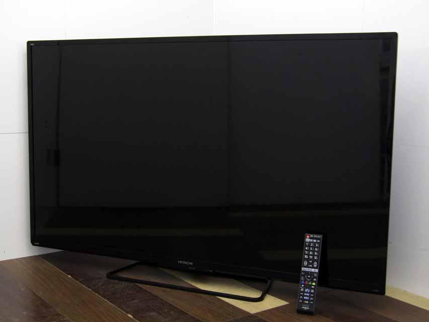 【中古 液晶テレビ】日立 Wooo L55-GP3 55V型 フルハイビジョン HDD 1TB内蔵 ブラック 2015年製 一人暮らし 価格 安い おすすめ
