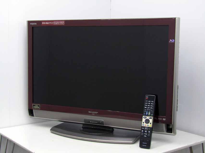 【あす楽】【中古液晶テレビ】【シャープ】アクオス 32V型 ハイビジョン 録画対応 BD/DVD再生 LEDバックライト LC-32DX3 2010年製