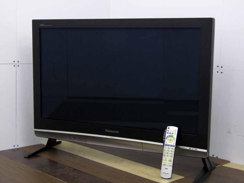 【中古 液晶テレビ】 パナソニック 37型 ハイビジョン プラズマテレビ ビエラ TH-37PX80 ブラック系 汎用スタンド 2008年製 価格 安い おすすめ