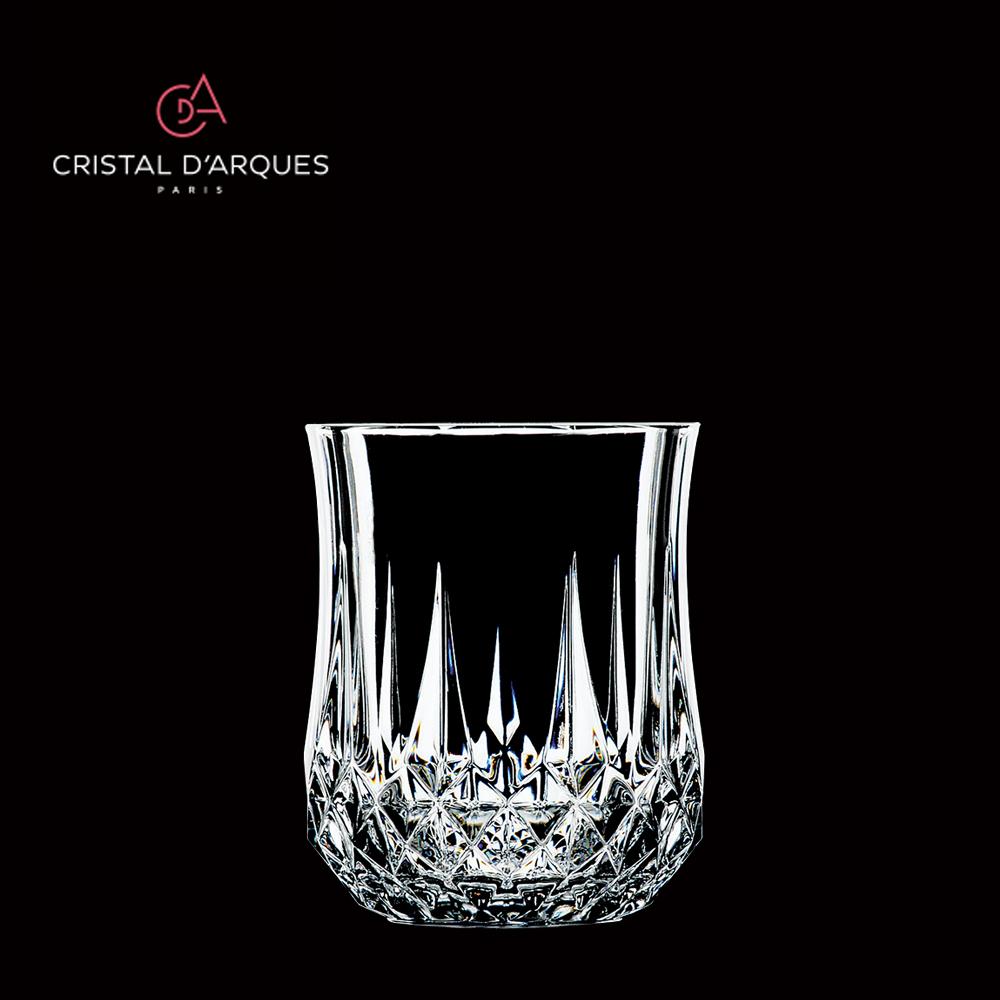 新作送料無料 光を反射して放つ美しい輝き クリスタルダルク 春の新作 ロンシャン ロックグラス 230ml オールド