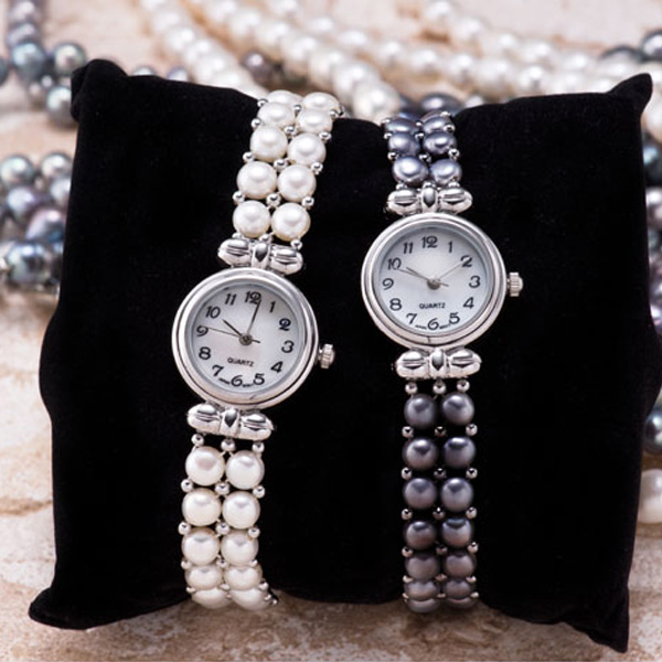 natural pearl watch 2 pearl ladies watch pearl clock pearl watch gifts select j jewelry halloween gifts