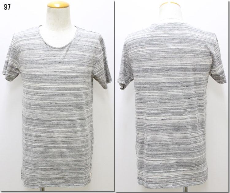SCOTCH&SODA 【スコッチ&ソーダ】 ボーダークルーネックTシャツ 半袖 282-13442 【10P09Jul16】