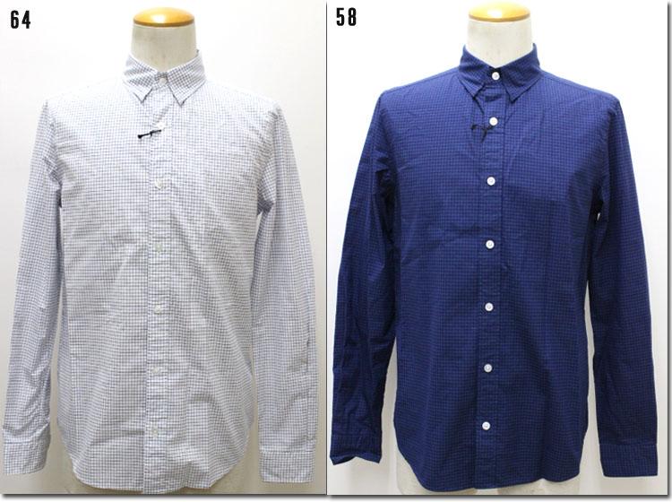 Blue Work 【ブルーワーク】グラフチェックシャツ54-01-61-01112-HN 【10P09Jul16】