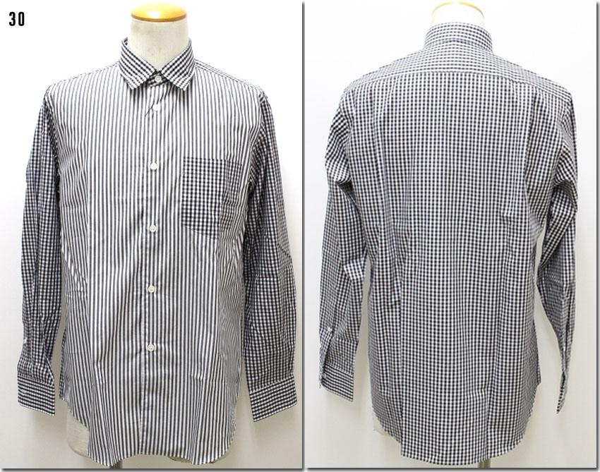 JOHN BULL 【ジョンブル】 レギュラーカラーシャツ ギンガム×ストライプ JOHN BULL×Makerhood Shirt  13425 【10P09Jul16】