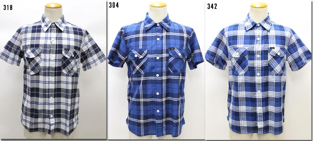 Lee 【リー】 半袖ワークチェックシャツ  LT0574 【10P09Jul16】