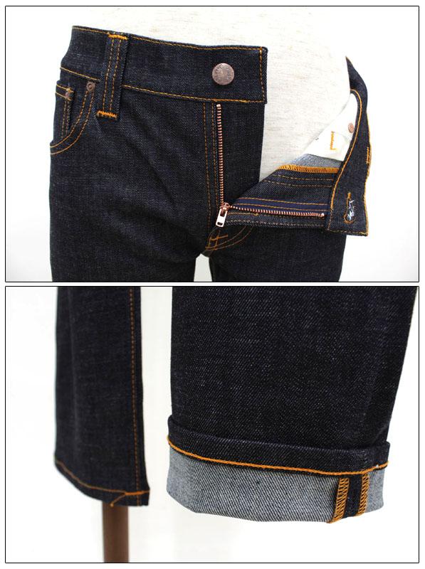NUDIE jeansヌーディージーンズデニムスキニージーンズ THIN FINN 38161 1086 44161 1005SUzpqMV