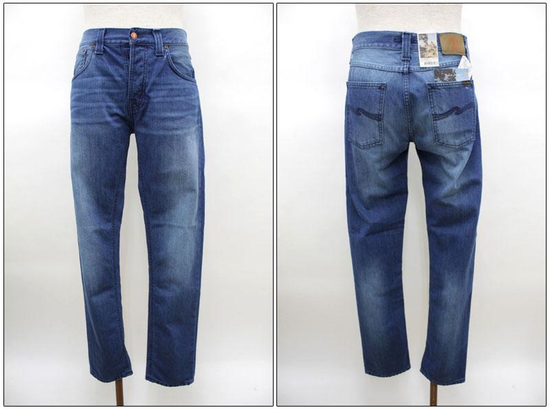 NUDIE jeans 【ヌーディージーンズ】 ストレートジーンズ STEADY EDDI 39161-1101 【10P09Jul16】
