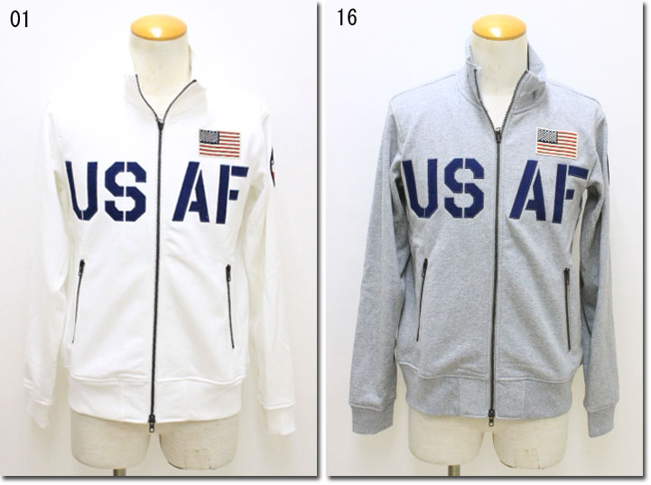 AVIREX 【アビレックス/アヴィレックス】 USAF70th Anniversary THERMO LITE STAND ZIP JACKET アメリカ空軍70周年記念サーモライトスタンドジップジャケット  6173436