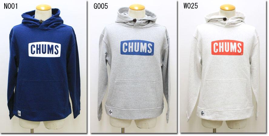CHUMS 【チャムス】 チャムスロゴプルオーバーパーカー CH00-1085