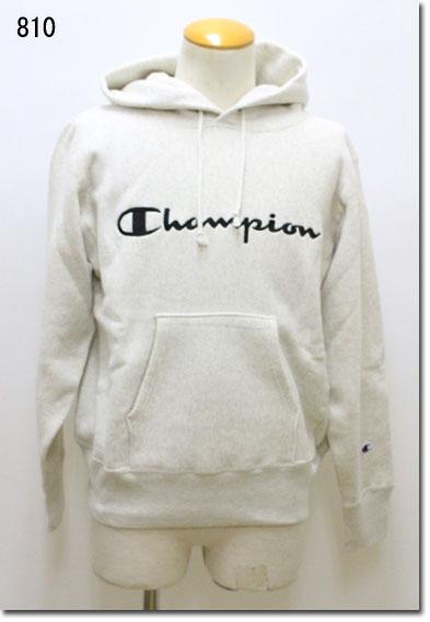 Champion 【チャンピオン】 リバースウィーブ(青タブ)プルオーバースウェットパーカー 11.5oz 裏起毛 C3-L107