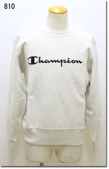 Champion 【チャンピオン】 リバースウィーブ(青タブ)クルーネックスウェットシャツ 11.5oz 裏起毛 C3-L007