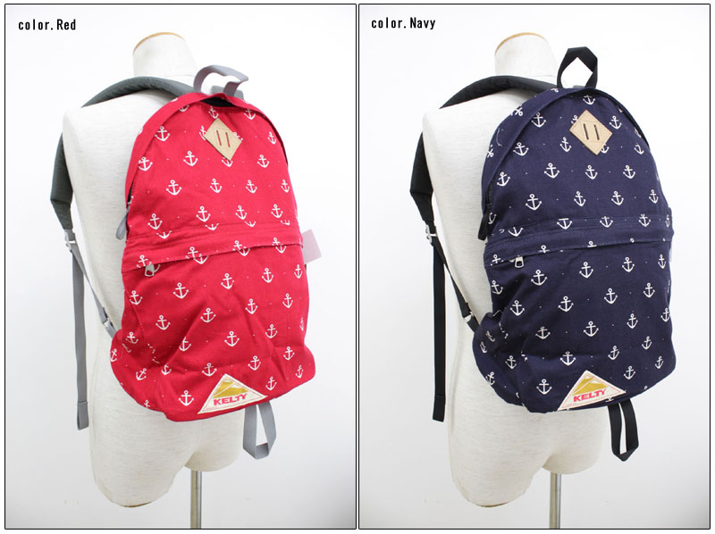 KELTY 【ケルティ】 *2014 SUMMER LIMITED EDITION* アンカー柄デイパック リュックサック DAYPACK ANCHOR 【10P09Jul16】