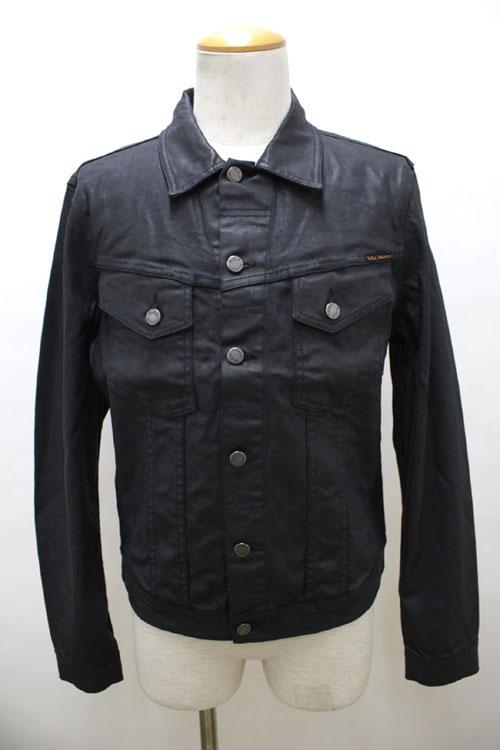 NUDIE jeans 【ヌーディージーンズ】 コーティングデニムGジャン PERRY 40161-5022 【10P09Jul16】