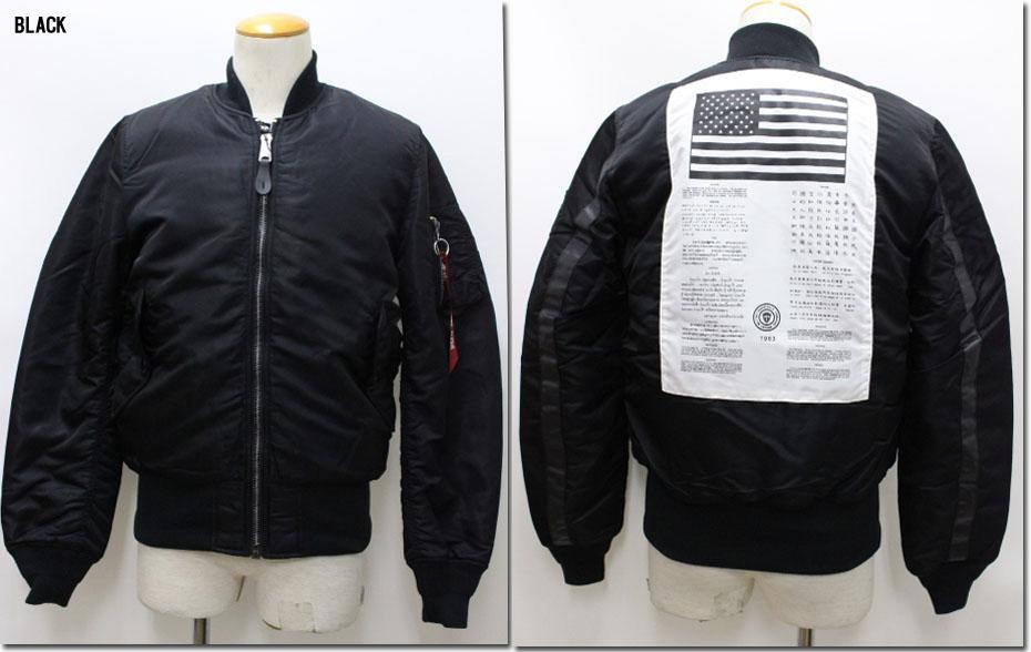 ALPHA 【アルファ】MA-1 ジャケット ブラッドチット ジャパンフィット フライトジャケット インダストリーズ タイト  TA0141