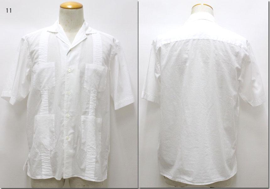 TOMORROWLAND【トゥモローランド】インドコットン キューバシャツ 63-05-91-05301/63059105301