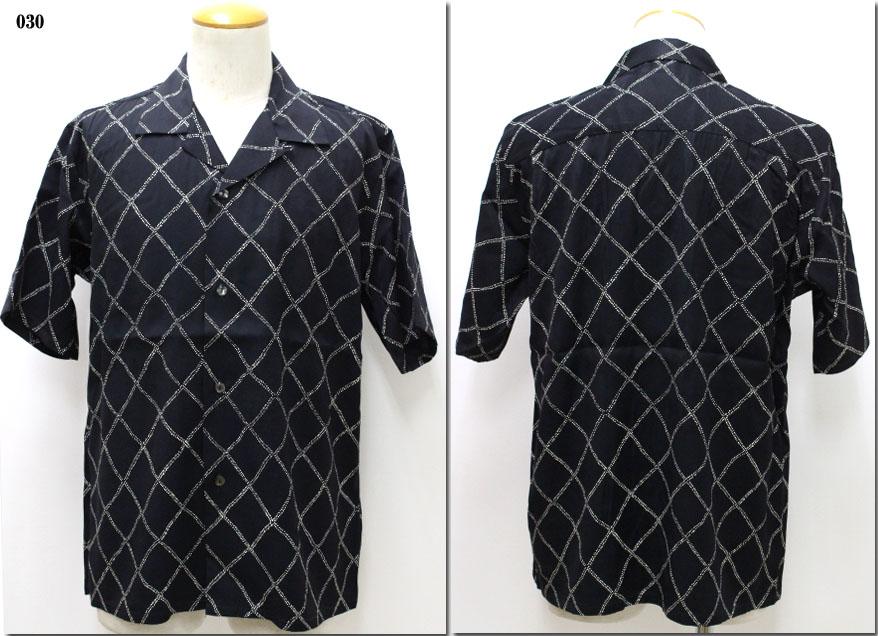 Johnbull 【ジョンブル】 レーヨンプリントオープンカラーシャツ 13563