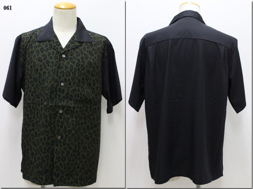 Johnbull 【ジョンブル】 レオパード柄オープンカラーシャツ 13580