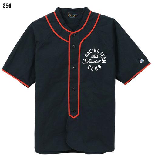 Champion 【チャンピオン】ベースボールシャツ ロチェスター ラバープリント C3-P326