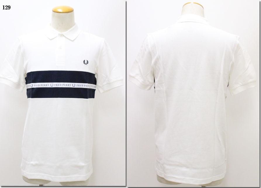 FRED PERRY 【フレッドペリー】 スポーツテープピケシャツ ポロシャツ 鹿の子 M5566